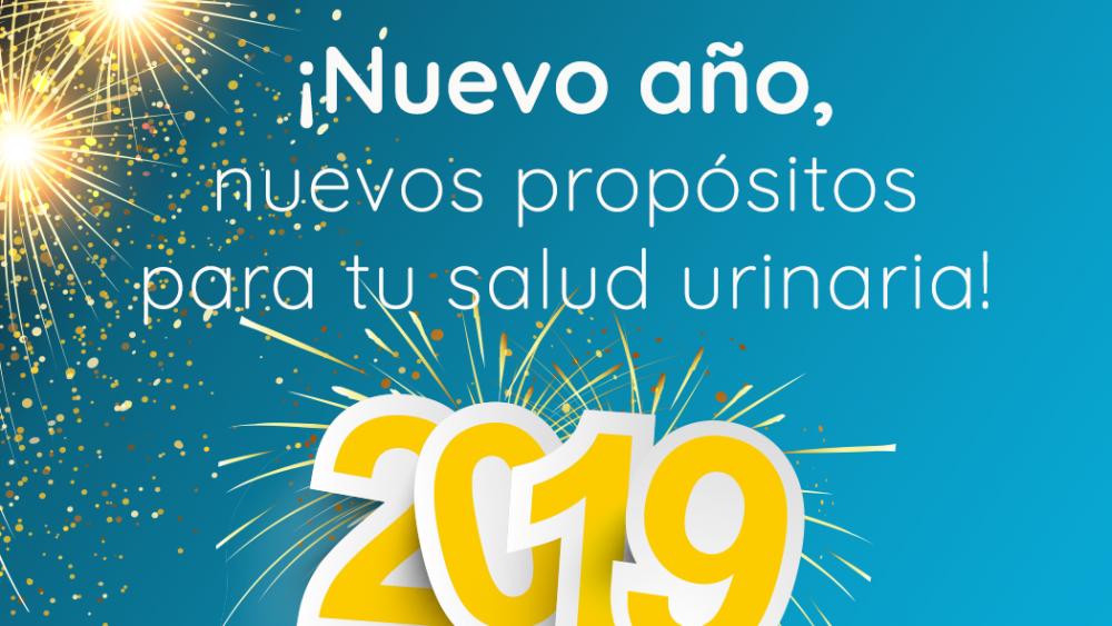 ¡Nuevo año, nuevos propositos para tu salud urinaria!