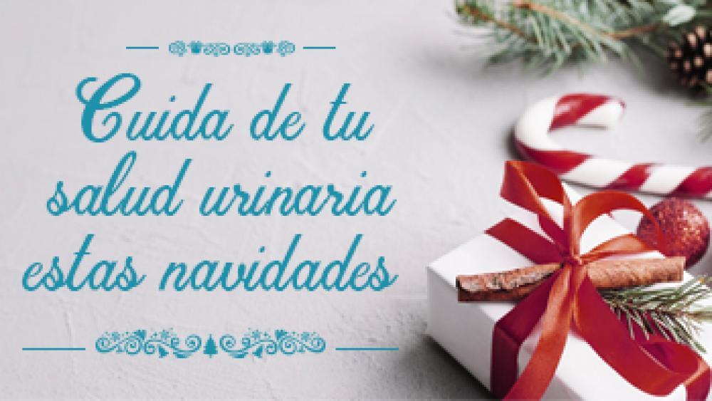 ¡Cuida de tu salud urinaria estas navidades!