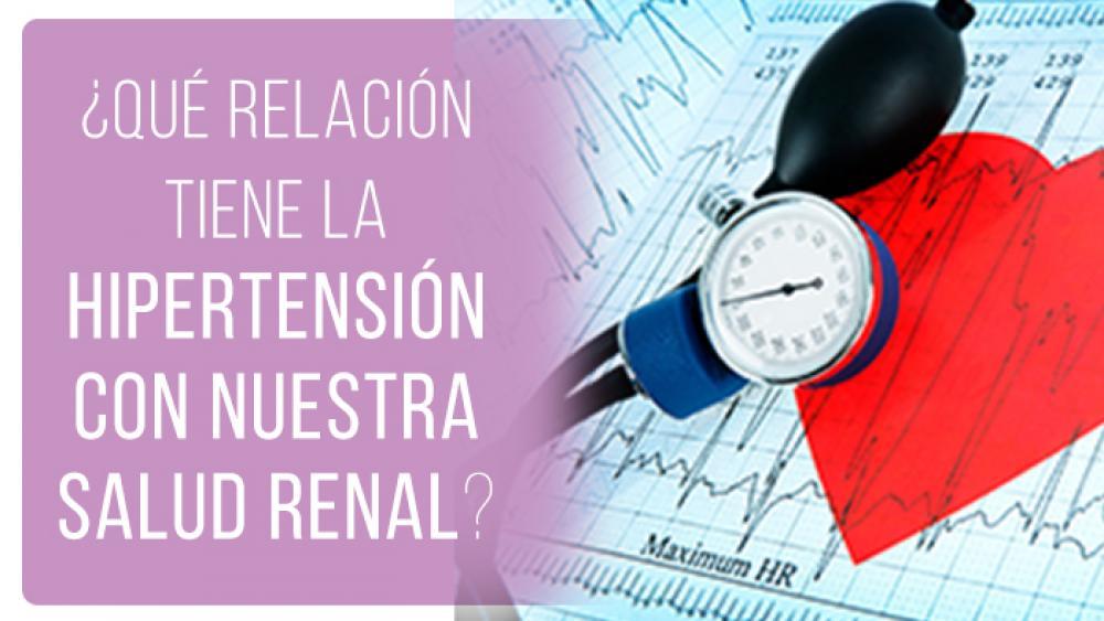 ¿Qué relación tiene la hipertensión con nuestra salud renal?