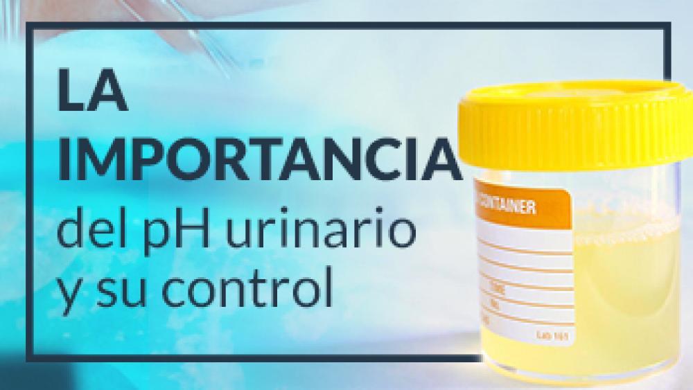 La importancia del pH urinario y su control